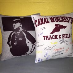 Just finished a custom order! Do you have a favorite shirt you want to save? Let us turn it into a pillow for you. Contact us today ✉️💻