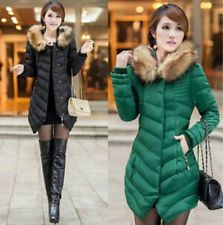 Women's winter padded jacket Korean Slim hooded coat and long sections OUTWEAR