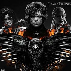 """The Dragon Has Three Heads"" (Fan Art) #gameofthrones #hbo"