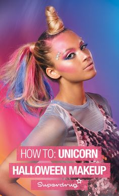 This year is all about the unicorn. Follow our simple steps to get this magical Unicorn Halloween look. Neigh problem.