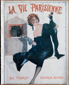 Other illustrations shown on the photos are made by RENE PREJELAN (funny family scene), G. LEONNEC (gorgeous centre pages titled Feuilles Volantes. Feuilles D?Hiver. Feuilles Mortes), JULIEN JACQUES LECLERC (adorable illustrations with sexy young woman) and G. PAVIS (elegant couple walking their dog on the back page). | eBay!