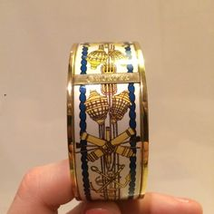 C Wonder Decorative Bracelet Very beautiful brand new C Wonder decorative bracelet.  Design is blue, yellow and white with lamps cannons and rope.  Very nautical and stunning :)  My prices are priced in anticipation of people to make offers - so please do!  I am very flexible and try to be extremely reasonable :) so please make an offer if you are interested!! I am trying to get rid of things :) C Wonder Jewelry Bracelets