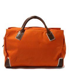SAZABY(サザビー)のファブリックバッグMSO14627(ボストンバッグ) オレンジ