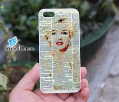 Marilyn Monroe iphone 5C case colorful designer art by Angelcases, $7.99