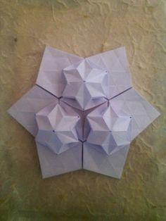 Origami Teselado Origami Folding, Christmas, Xmas, Navidad, Noel, Natal, Kerst