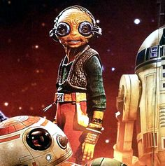 A More detailed view at Maz Kanata in Star Wars TFA