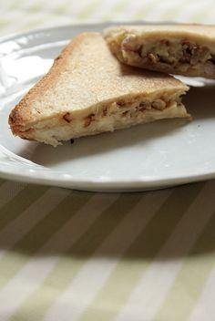 club sandwich: lardon, chou et fromage