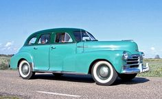 1948 Chevrolet Stylemaster FJ 3.5L 6-Cylinder OHV 9sbhp Engine (photo by Clay)