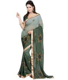 Loved it: Bunny Sarees Green Semi Chiffon Saree, http://www.snapdeal.com/product/bunny-sarees-radiant-green-colour/1636875571