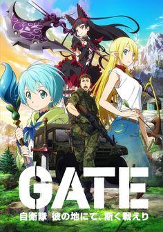 Poster for Gate: Jieitai Kanochi nite, Kaku Tatakaeri Blu-ray Boxset | MANGA.TOKYO