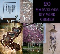 Recipes, Projects & More - 20 Marvelous DIY Wind Chimes