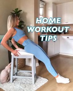 Home Workout - push ups 3 x - standing single leg raises 3 x 15 each leg⁣⁣ - seated bicycles 3 Gym Workout Tips, Fitness Workout For Women, Insanity Workout, Best Cardio Workout, Workout Videos, At Home Workouts, Workout At Home, Gym Workouts Women, Home Exercise Routines