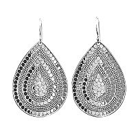 anna beck jewelry  sterling earrings