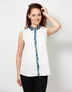 Besiva Solid Women's Top
