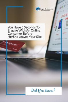 Did you know? You Have 5 Seconds To Engage With An Online Consumer Before He/She Leaves Your Site. Mobile Marketing, Internet Marketing, Marketing Consultant, 5 Seconds, Did You Know, Knowing You, Leaves, Phone, Telephone
