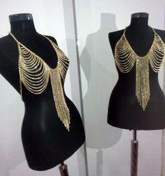 Best Vintage Tassel Bra Chains Body Chains Jewelry Bikini Crossover Bikini Chains Vintage Waist Chains Belly Chain Body Jewelry Under $8.81 | Dhgate.Com