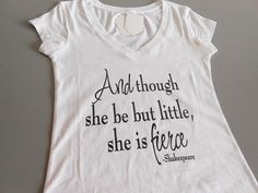Hey, I found this really awesome Etsy listing at https://www.etsy.com/listing/160911885/white-though-she-be-but-little-she-is