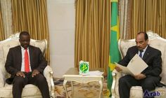 Mauritanian President Receives Message from Niger Counterpart