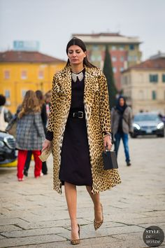 Style Inspiration | Street Style: 10 Wintry Outfits We Love, featuring Giovanna Battaglia Engelbert, Giorgia Tordini & more