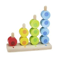 Hape Toys - Jackson's still a bit young for this, but he has it and loves putting the circles inside things. Lol