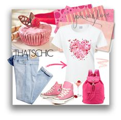 """""""Graphic Tee Shirt"""" by pat912 ❤ liked on Polyvore"""