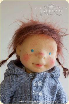 Reserved. Olivia 18 inch Waldorf doll Steiner Doll door kiwinestling