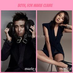 Ndaycouple marie claire For more update please visit our instagram account monday_sugar #mondaycouple #runningman #kanggary #songjihyo