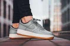 "Nike WMNS Air Force 1 '07 Premium ""Wolf Grey/Midnight Fog"" - EU Kicks Sneaker Magazine"