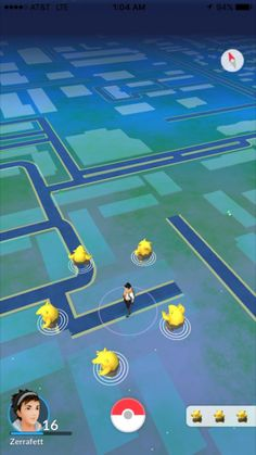 Hillarious pokemon go screenshots