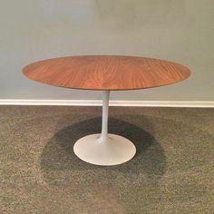 Saarinen Walnut Tulip Table
