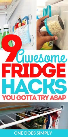 Fantastic fridge organization ideas that you can do on a budget & These home organization hacks for the fridge are so awesome! Organisation Hacks, Organizing Hacks, Cleaning Hacks, Budget Organization, Kitchen Storage Hacks, Small Kitchen Organization, Kitchen Hacks, Kitchen Ideas, Kitchen Inspiration