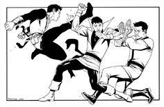 Karate Kid vs Karate Kid vs Karate Kid by Donovan