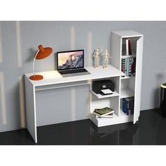 Photo of Sellar Schreibtisch Office Furniture, Home Furniture, Study Table Designs, Diy Study Table, Study Tables, Etagere Cube, Table Desk, Office Table, Home Furnishings