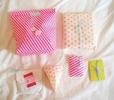 Petits cadeaux fluo - Neon wrapping