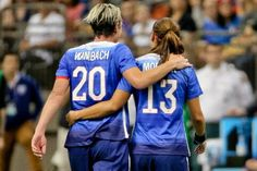 Abby Wambach and Alex Morgan | Abby Wambach Retirement