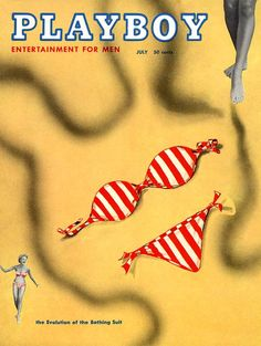 Playboy magazine cover July 1954