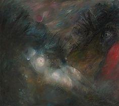 ARTHUR BOYD 1920-1999 Sleeping Nude (1962) oil and tempera o