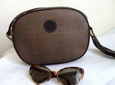 FENDI Rare vintage 90s leather bag Cross Body by MushkaVintage3