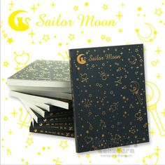 Sailor moon crystal 20th Tsukino Usagi golden school student note book notebook-in Notebooks from Office & School Supplies on Aliexpress.com | Alibaba Group