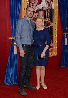 Melissa Joan Hart and Mark Wilkerson - Red Carpet Arrivals at Burt Wonderstone Premiere 2
