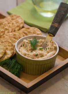 Super fast and easy smoked trout mousse makes a great appetizer for crackers or spread on top of cucumber slices. Make it in under 10 minutes.