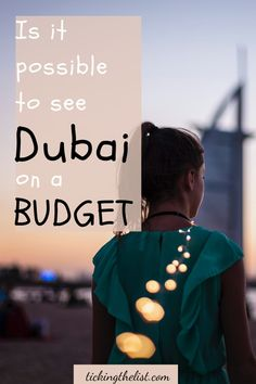 Luxury cars and fancy hotels is what you think when you think of Dubai, right? But is it possible to visit Dubai on a tight budget? Here are my tips for doing just that!