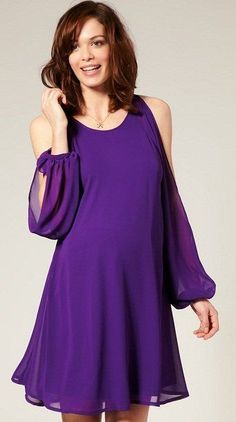 Some of mumzy-nots favourite maternity outfits for weddings. Dresses from Asos maternity, Isabella Oliver and Blossom maternity, serpahine Maternity Dresses For Photoshoot, Maternity Wear, Maternity Fashion, Pregnancy Outfits, Mom Outfits, Dress Outfits, Violet Dresses, Purple Dress, Purple Outfits