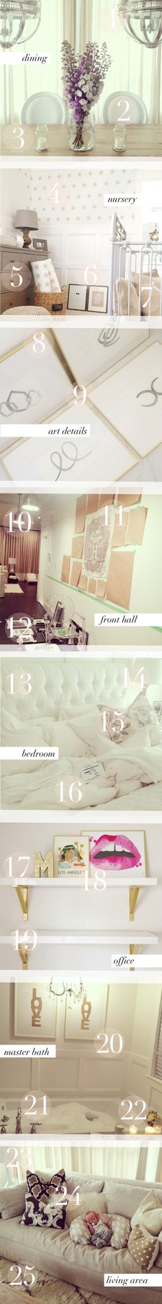"""Mini Home Tour with my 25 top asked """"Where's _________ from?"""" 