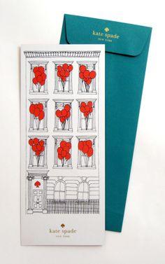 Kate Spade New York Vertical Card
