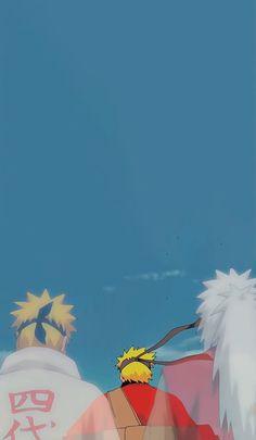 Naruto, Jiraya e Minato