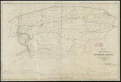 Map of the several routes from Rochester to Buffalo : compiled from county maps and actual surveys in the office of the Lockport & Niagara Falls Rail Road Co.