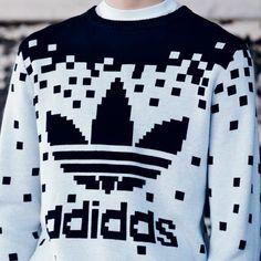Adidas Pixel Knit Sweater - $300