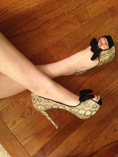 Zapatos, mujer, plataforma, femenino
