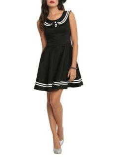 Hell Bunny Black Sailor Dress $49.50 (Hot Topic)